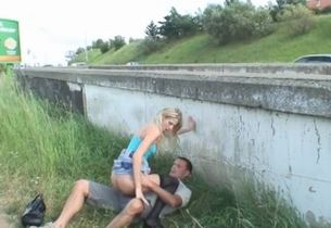 Humping Outdoor With Stranger