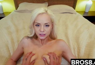 Elsa Jean Nails Her Spying StepBro
