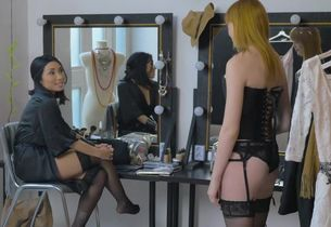 Anny Aurora in The Black Corset..