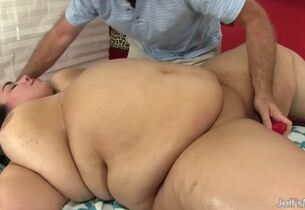 Young flabby mia riley massaged..