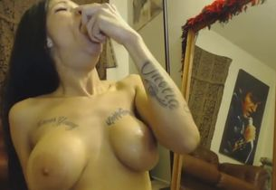 Highly filthy gal does buttfuck and..