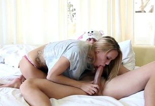Firm shaft for young Hollie Mack