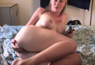 Agonizing ass-fuck for russian hoe